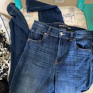 Express Skinny legging Jeans 4R high rise